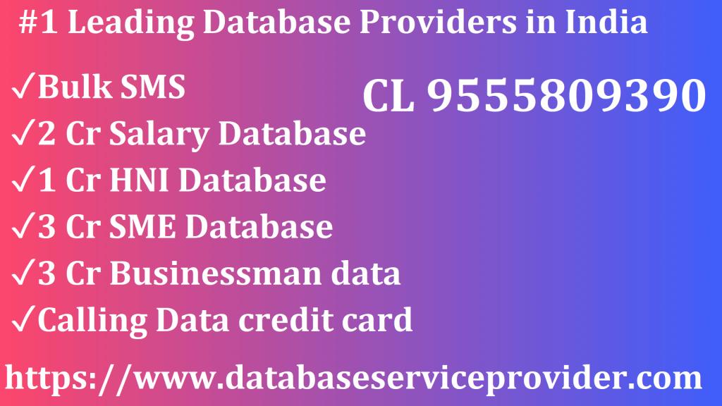 companies database India