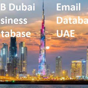 email database uae